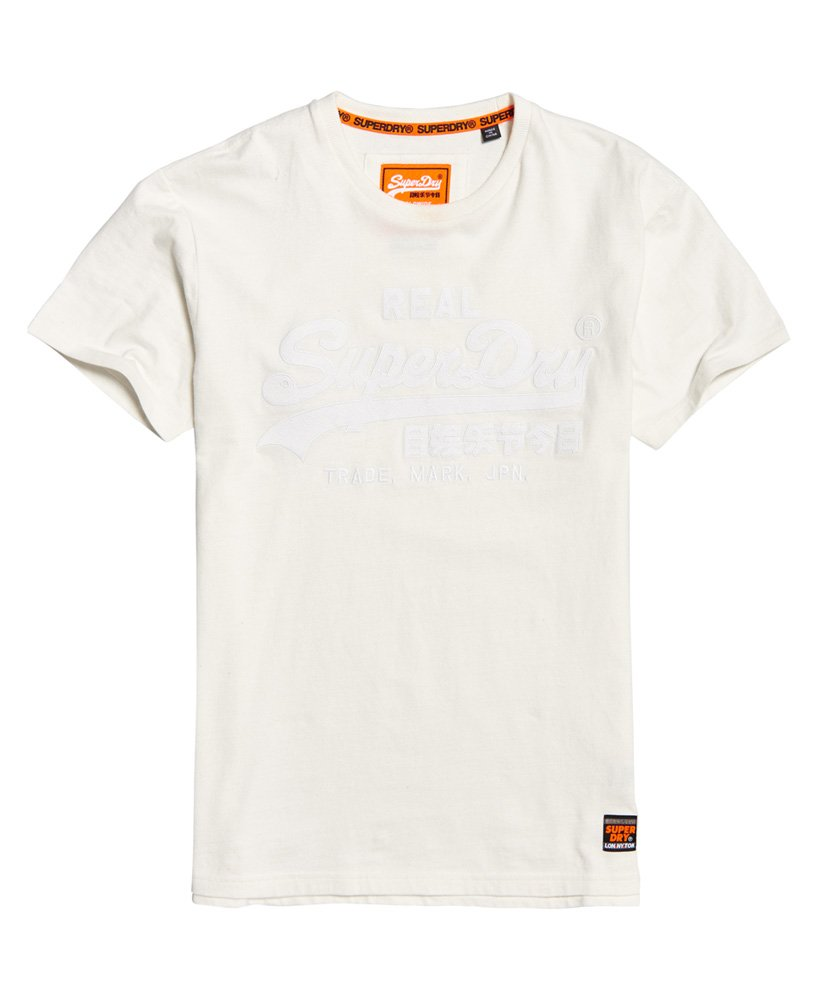 8a6f7521866 SUPERDRY VINTAGE LOGO BOX FIT APPLIQUE T-SHIRT - ΑΝΔΡΑΣ - ΛΕΥΚΟ