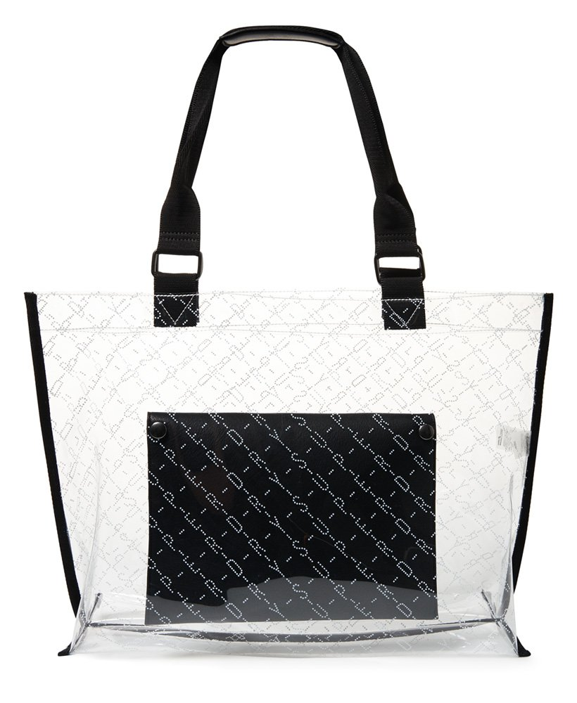 5d49e57487 AMAYA JELLY TOTE BAG SUPERDRY - ΓΥΝΑΙΚΑ ΔΙΑΦΑΝΗ
